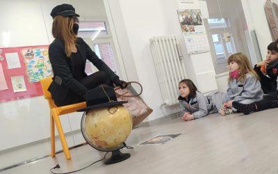 Julia Verne y la vuelta al mundo en 80 días. Meraki Infantil